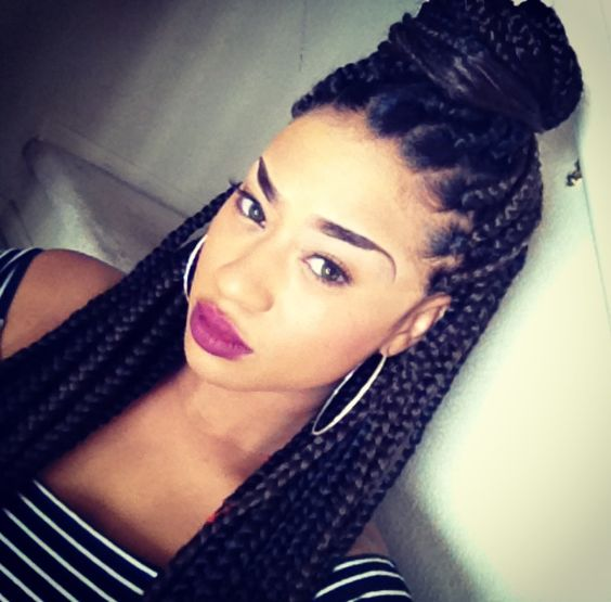 Box Braids Braids Braid Hairstyles Poetic Justice Braids