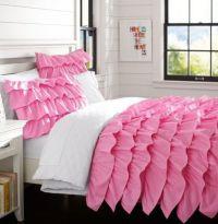 PB Teen pink bed set | Laikens room | Pinterest | Teen ...