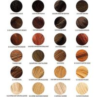 chi ionic permanent shine hair color chart
