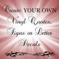 Custom vinyl, Wall lettering and Lettering on Pinterest