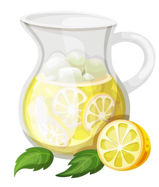 transparent ice lemonade clipart