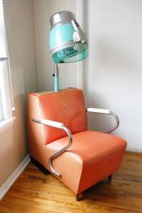 RESERVED FOR KAYLA - Vintage Salon Hair Dryer Chair ...