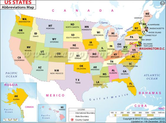 17 Best images about Capitals Map Usa maps US states