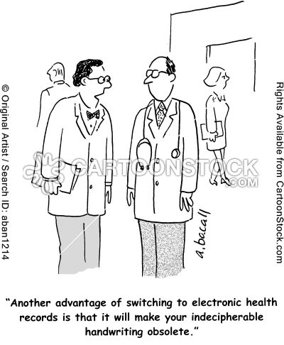 'Another advantage of switching to electronic health