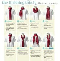 Scarfs tying, Scarfs and For the on Pinterest