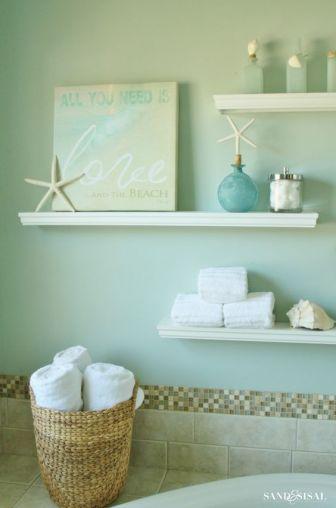 seagreen bathroom