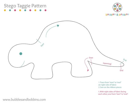 Template for Stegosaurus counting game... Make out of fun