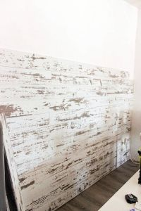 How to Install a Wood Plank Wall | Facebook, Barn wood and ...