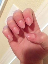 natural short almond nails | Beauty- Nails | Pinterest ...