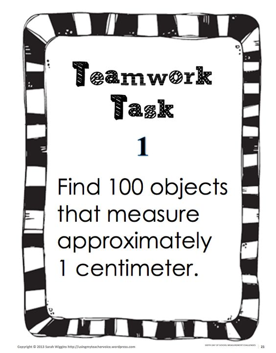 Measurement activities, 100th day and Worksheets on Pinterest