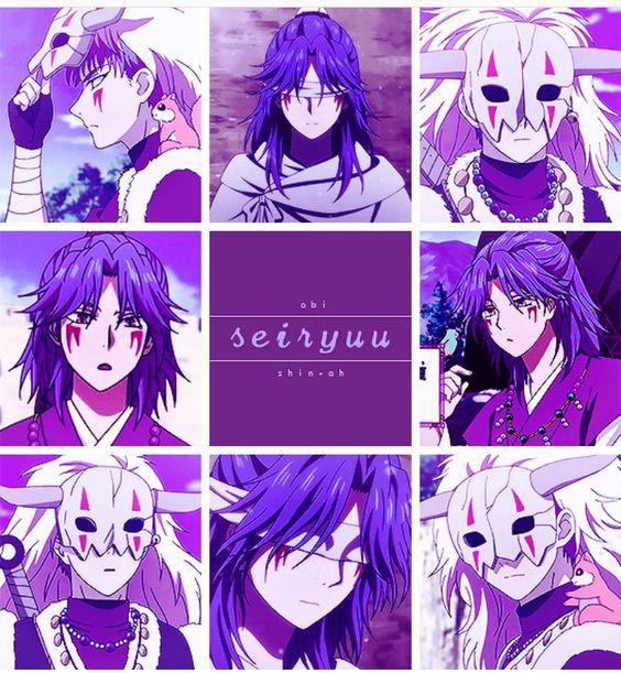 Akatsuki no Yona anime and manga OAD ova 2 Zeno Avi and shin ah blue dragons Seiryuu | Akatsuki no Yona *Yona of the Dawn* ☾ | Pinterest | Anime ...