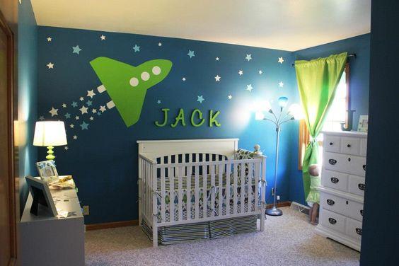 Jack's Space Themed Nursery on Project Nursery: