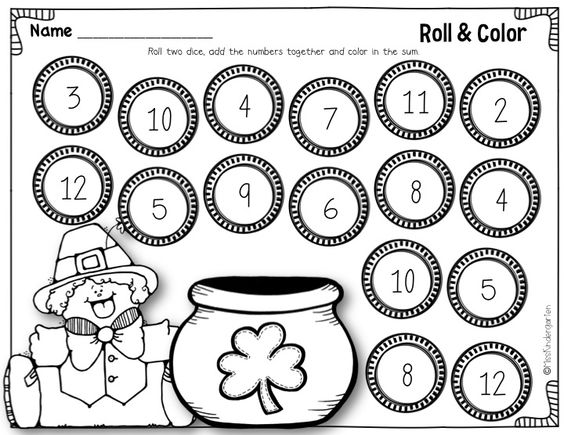 Dice, Number recognition and Gold coins on Pinterest