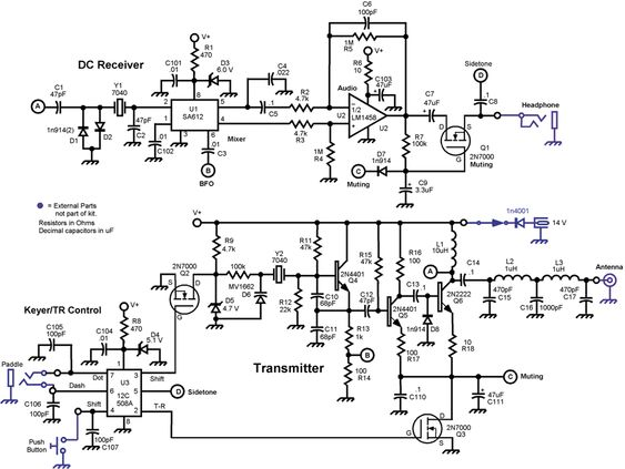 related with block diagram of a superheterodyne am rx