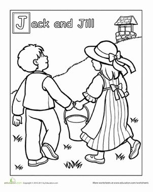 Worksheets, Jack and jill and Jack o'connell on Pinterest