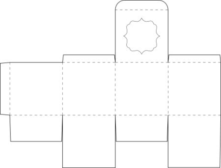 Box templates, Templates and Squares on Pinterest
