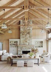 Fireplaces, Style and Cool lighting on Pinterest