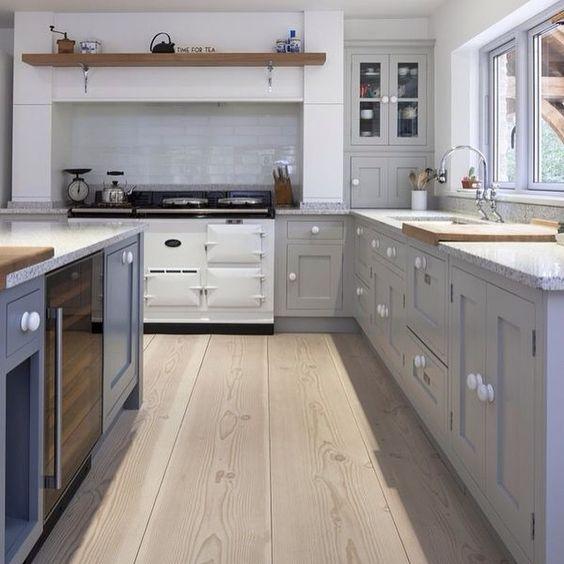 Aga, Grey and Kitchen grey on Pinterest