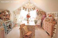 Shabby chic craft room | Classic Emma | Pinterest | Craft ...