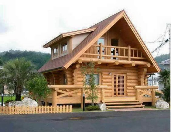 Wood House Designs – Idea Home And House