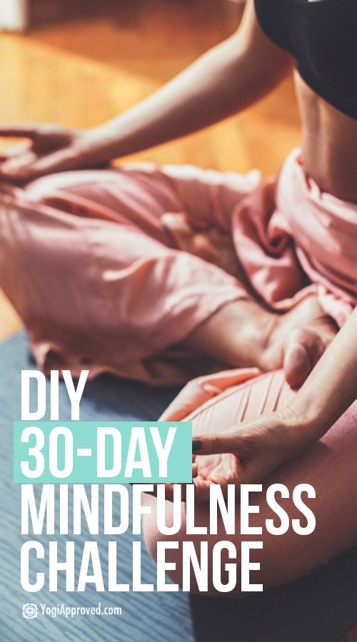 DIY 30-Day Mindfulness Challenge: