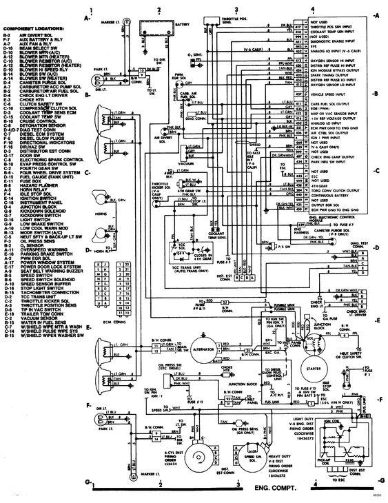 85 Chevy Alternator Wiring Diagram, 85, Free Engine Image