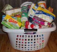 Housewarming gifts, Gift baskets and Gifts on Pinterest