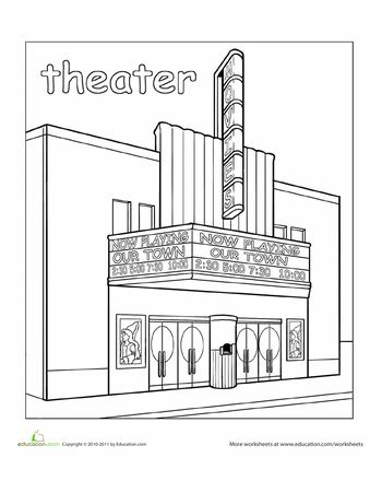 3d building, Paint and Theater on Pinterest