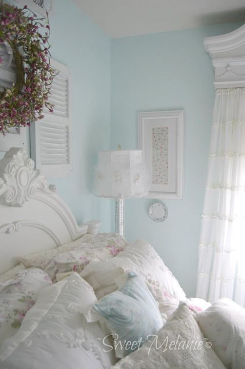 Love The Wall Color Pastel Bedroomshabby