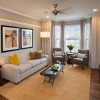Gray And Yellow Living Rooms: Photos, Ideas And