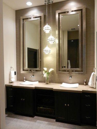 master bathroom vanity lighting ideas Inspiration, Love the and Design on Pinterest