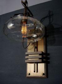~ Donovan Design Steampunk Wall Lamp | lighting repurposed ...