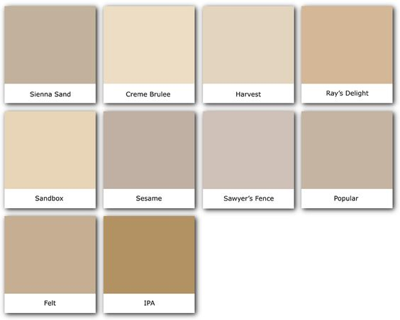 Colorevolution Tans Sienna Sand Places Amp Spaces Pinterest Green Colors And Tans