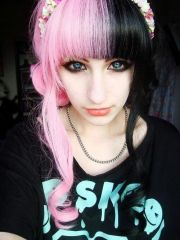 emo clothing accessories and pink