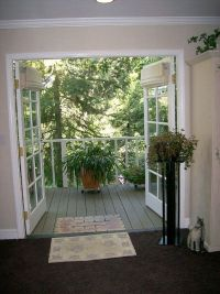 """french doors"" to deck - Google Search 