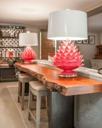 Sweet shot of these Stray Dog Pink Artichoke Lamps. # ...