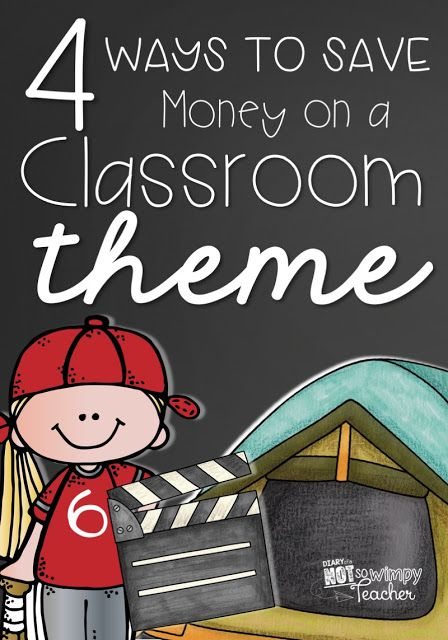 4 Ways to Save Money on a Classroom Theme: