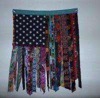 Bohemian hippie beaded curtain flag wall door ethnic ...