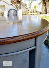 Refinished Table | Stains, Painting dining tables and DIY ...