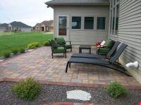 backyard patio ideas : patio paver good laying pavers on ...