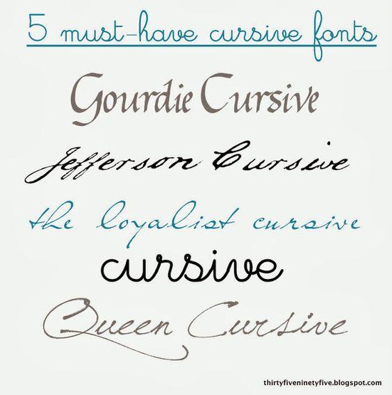 The Word Queen In Cursive