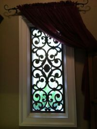 Wrought iron, Window treatments and Irons on Pinterest