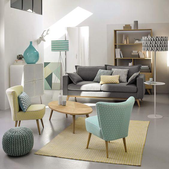 Table basse en bois L 120 cm Origami | Maisons du Monde: