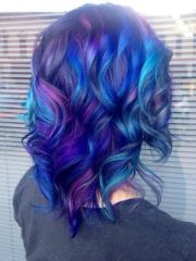 love color pattern hair