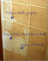 primer for painting over tile | Home | Pinterest ...