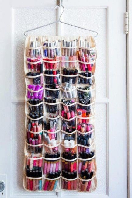 25 ingenious ways to use shoe bags (but not for shoes)! Shoe Organizer for Makeup