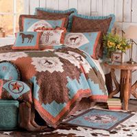 Cowgirl Bedding Set | Cabin Bedding and Western Bedding ...
