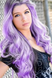 light purple hair - google