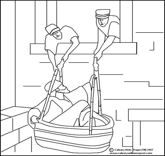Paul Damascus Coloring Page Sketch Coloring Page