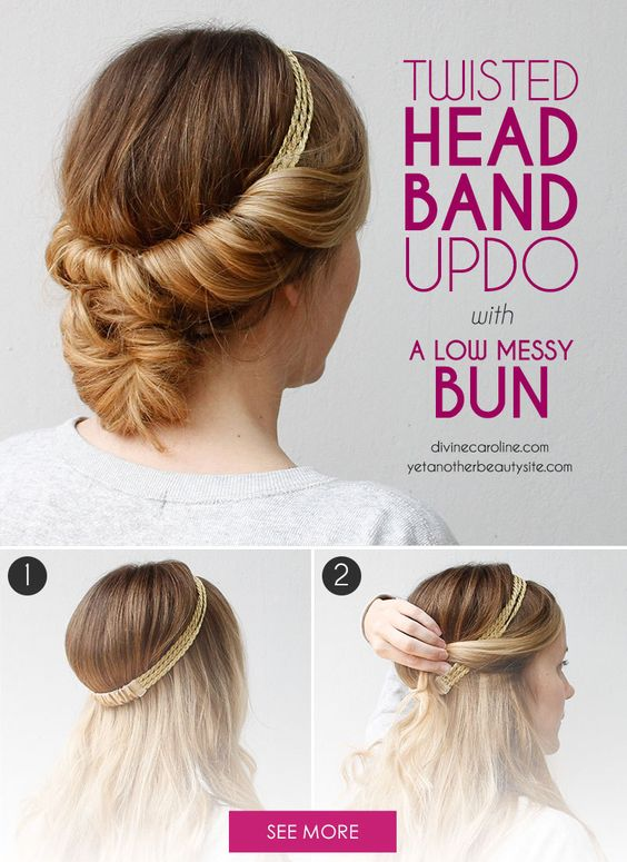 Updo  Do  it yourself  and Waves on Pinterest